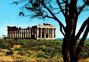 Italy Castelvetrano Selinunte Tempio di Giunone E