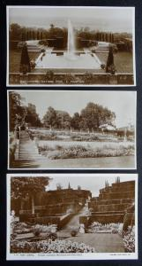 Kent Collection of 3 x PORT LYMPNE - Old RP Postcard