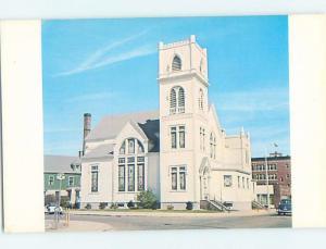 Unused Pre-1980 CHURCH SCENE Attleboro Massachusetts MA A5791
