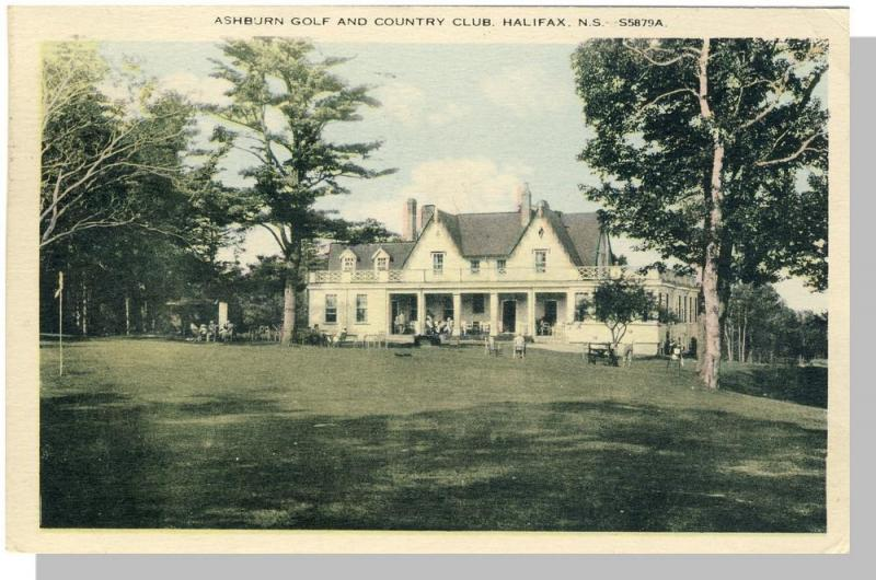 Halifax, Nova Scotia/NS Canada Postcard, Ashburn Golf Club