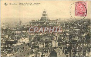 Old Postcard Brussels Palace of Justice and Panorama
