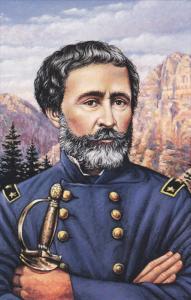 Poster Art PC: Portrait of The Pathfinder Explorer, General & Politician Jo...