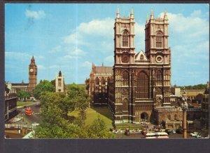 Westminster Abbey and Big Ben,London,England,UK BIN