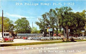 Jacksonville FL Powell Plymouth Dealership Postcard
