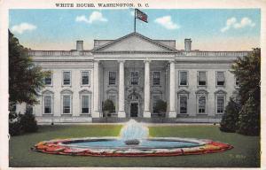 White House, Washington, D.C., Early Postcard, Unused