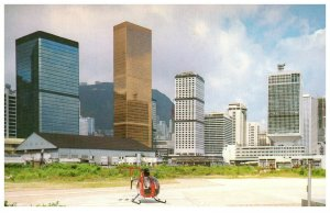 The New Appearance Hong Kong Helicopter Postcard PC1060