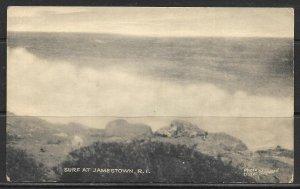 Rhode Island, Jamestown - Surf At Jamestown - [RI-026]