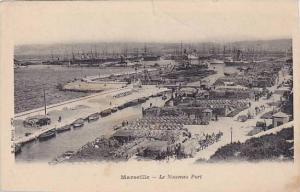 Marseille (Bouches-du-Rhône), France, 00-10s Le Nouvelle port