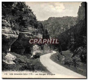 Old Postcard The Great Narrow Gorges D & # 39Englins