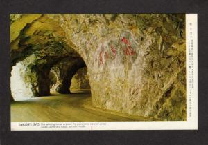Swallow's Caves Taiwan Republic of  China Postcard