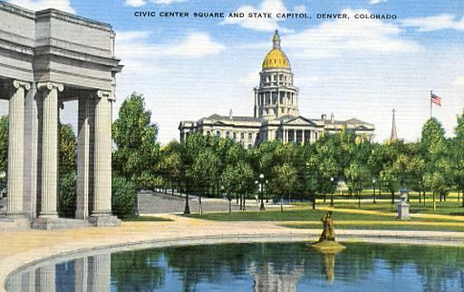 CO - Denver, Civic Center Square & State Capitol
