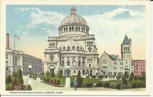 Boston, Mass., Christian Science Church