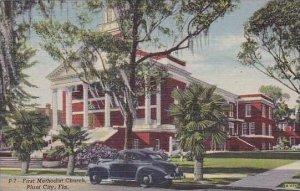 Florida Plant City First Methodist Church Curteich