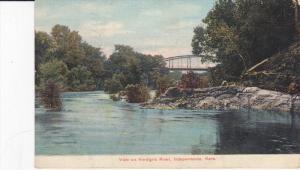 INDEPENDENCE, Kansas, PU-1908; View On Verdigris River