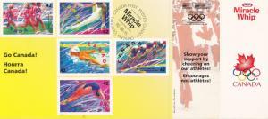 Canada Stamps for Olympics , Sydney , Australia , #2