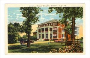 Anderson County Hospital , ANDERSON, South Carolina, PU-1926