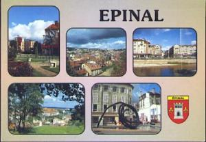 POSTAL 61137: Epinal ·Images de France