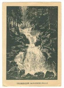 Triberger Wasserfalle, TRIBERG, Germany, PU-1954