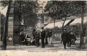 CPA PARIS 10e - Sur le Boul St. Martin (254228)
