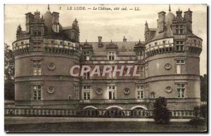 Old Postcard Le Lude Chateau Riviera Cote Sud