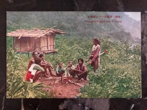 Mint Formosa China Real Picture Postcard Savages At Kappanzau