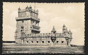 PORTUGAL Belem Tower Lisbon Unused c1920s