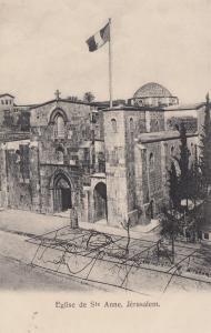 Jerusalem, Eglise et Seminaire Ste Anne, 1890s-1905