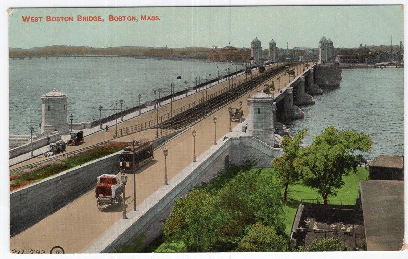 Boston, Mass, West Boston Bridge