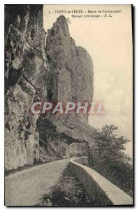 Postcard Old Drill Slow Road Combe Laval Pass Scenic