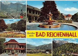 GG13430 Gruesse aus Bad Reichenhall, Kurpark Gradierwerk Berggasthof Schroffen