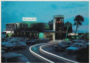Florida Sarasota Night View Marina Jack Restaurant & Deep Six Lounge
