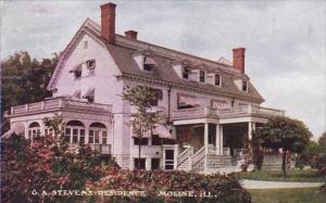 G A Stevens Residence Moline Illinois