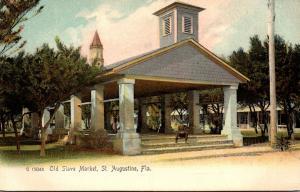 Florida St Augustine Old Slave Market Rotograph