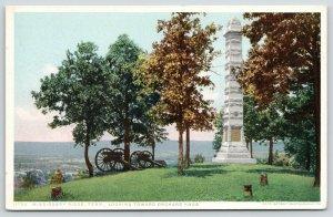 Chattanooga~Civil War Battlefield Missionary Ridge~Orchard Knob~1910 Detroit Pub