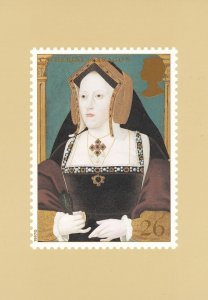 Catherine Of Aregon Henry VIII Wife Limited Edition Postcard