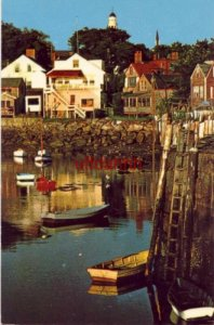 MORNING AT EBB TIDE, ROCKPORT HARBOR, CAPE ANN, MA. photo by Roger Cameron