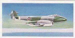 Lyons Tea Vintage Trade Card Wings Of Speed 1961 No 13 Gloster Meteor Mk IV G...