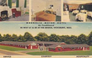 VICKSBURG , Mississippi , 30-40s ; Magnolia Motor Hotel