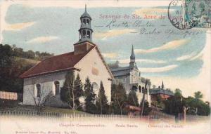 Canada Ste Anne de Beaupre Chapelle Comm Scala Santa &  Couvent des Soeurs...