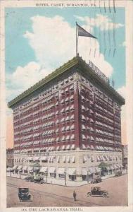 Pennsylvania Scranton Hotel Casey On The Lackawanna Trail 1927