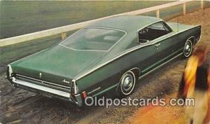 Richmond, IN, USA Postcard Post Card 1968 Mercury Monterey 2 Door Hardtop