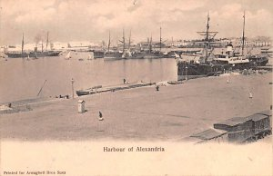 Harbour Alexandria Egypt, Egypte, Africa Unused