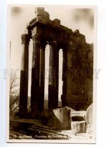 246867 Lebanon BAALBECK Bacchus Temple Vintage photo postcard