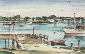 AS: Robert Brooks, CAPE COD, MA 40-60s; Bass River & Bass River Bridge