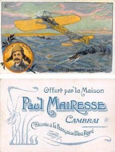 Approx Size Inches = 2.75 x 4.25 Paul Mairesse Camrai Tradecard