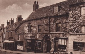 LINCOLN, Lincolnshire, England, 1900-1910s; The Jew's House