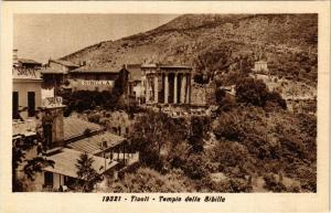 CPA TIVOLI Tempio della Sibilla ITALY (545885)