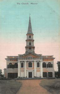 India Meerut The Church Front view Eglise Postcard