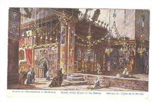 Inneres der Geburkskirche in Bethlehem, 00-10s