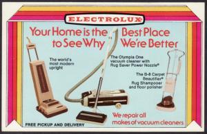 Electrolux Advertising Postcard